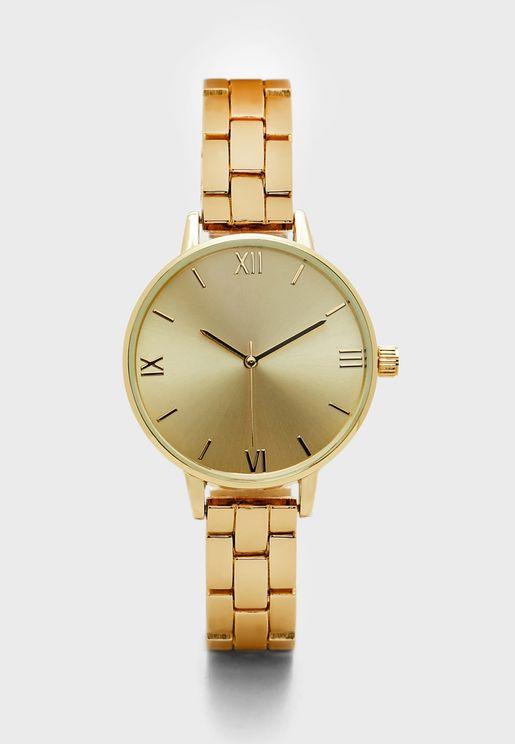 Slim Bracelet Watch