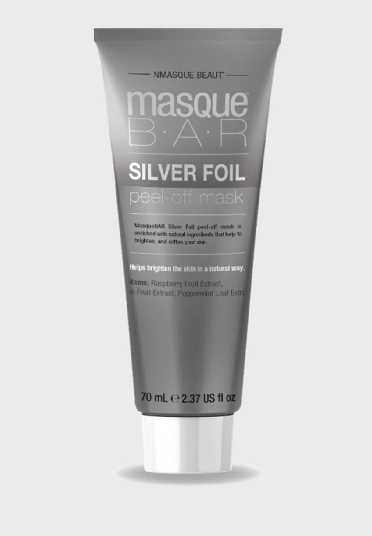 Silver Foil Peel Off Mask Tube 70ml