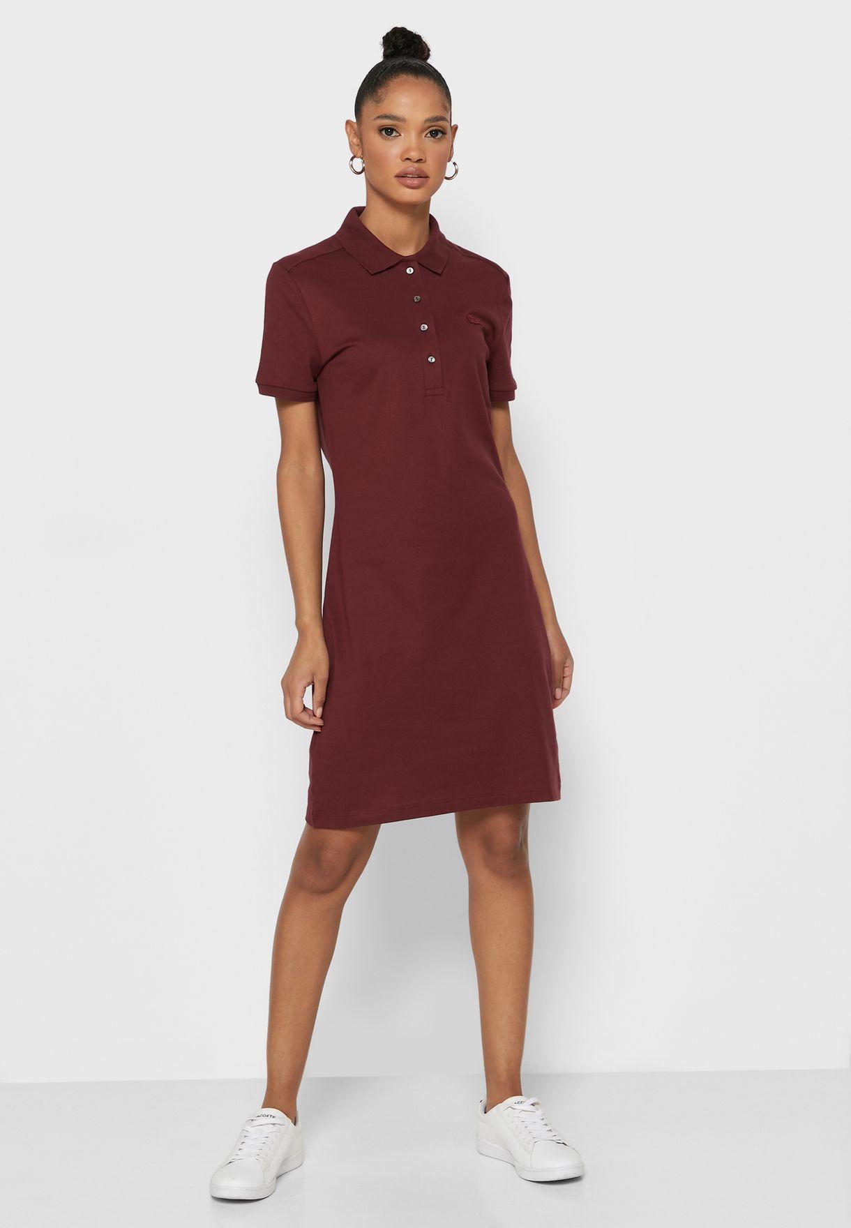 فستان بولو بشعار الماركة