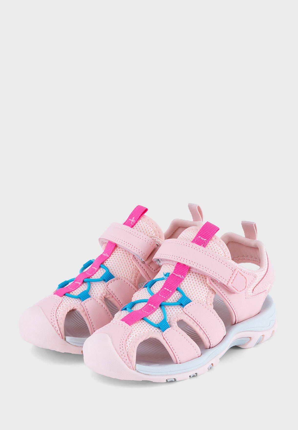 Kids Isabella Single Velcro Sandal