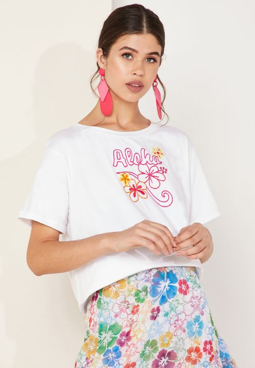 Kaila Embroidered T-Shirt
