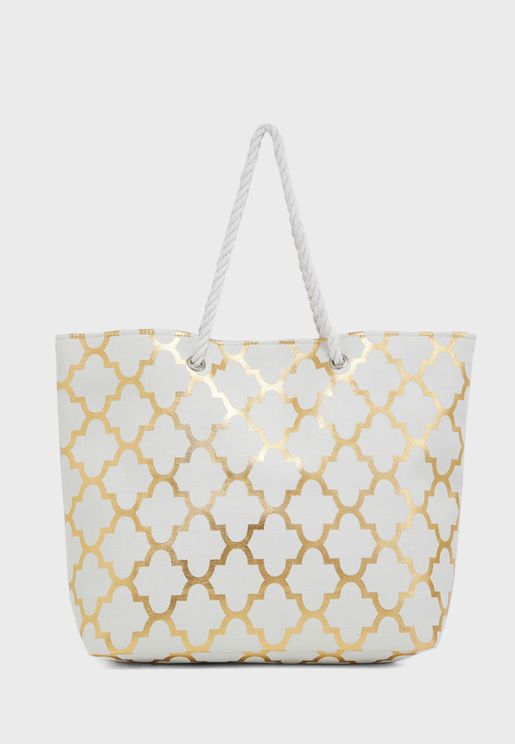 Rope Handle Detail Totes