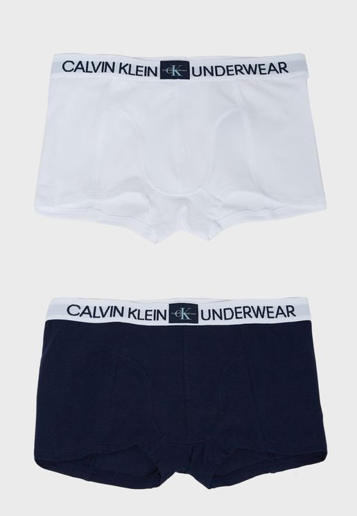 Kids 2 Pack Of Boxers