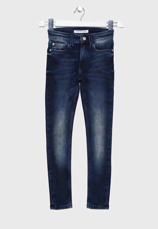 جينز مطاطي للاطفال