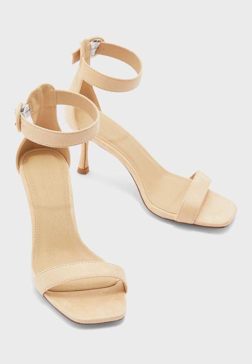 Kitten Heel Sandals