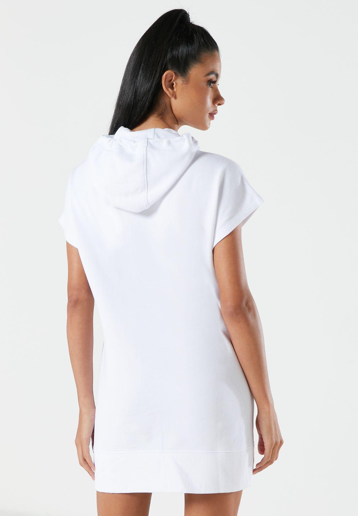 Logo Hooded Sweatdress