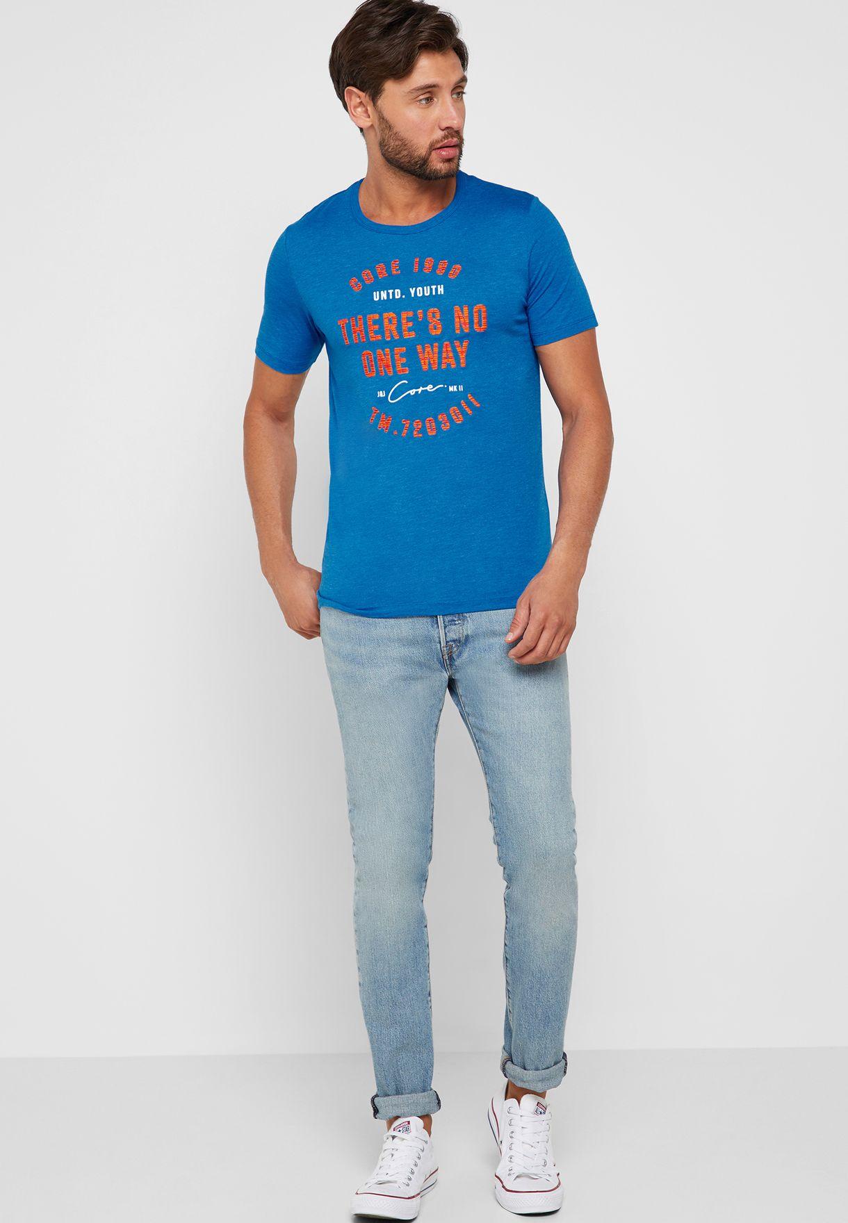 Jam Social Industries Print T-Shirt