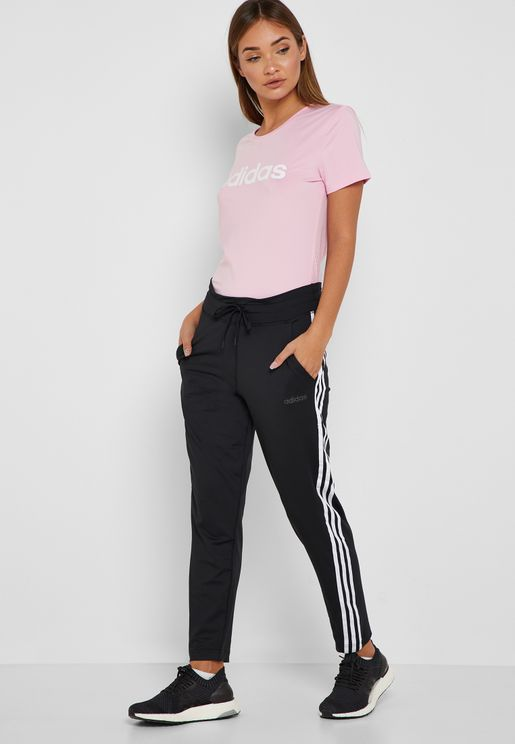 D2M 3 Stripe Sweatpants