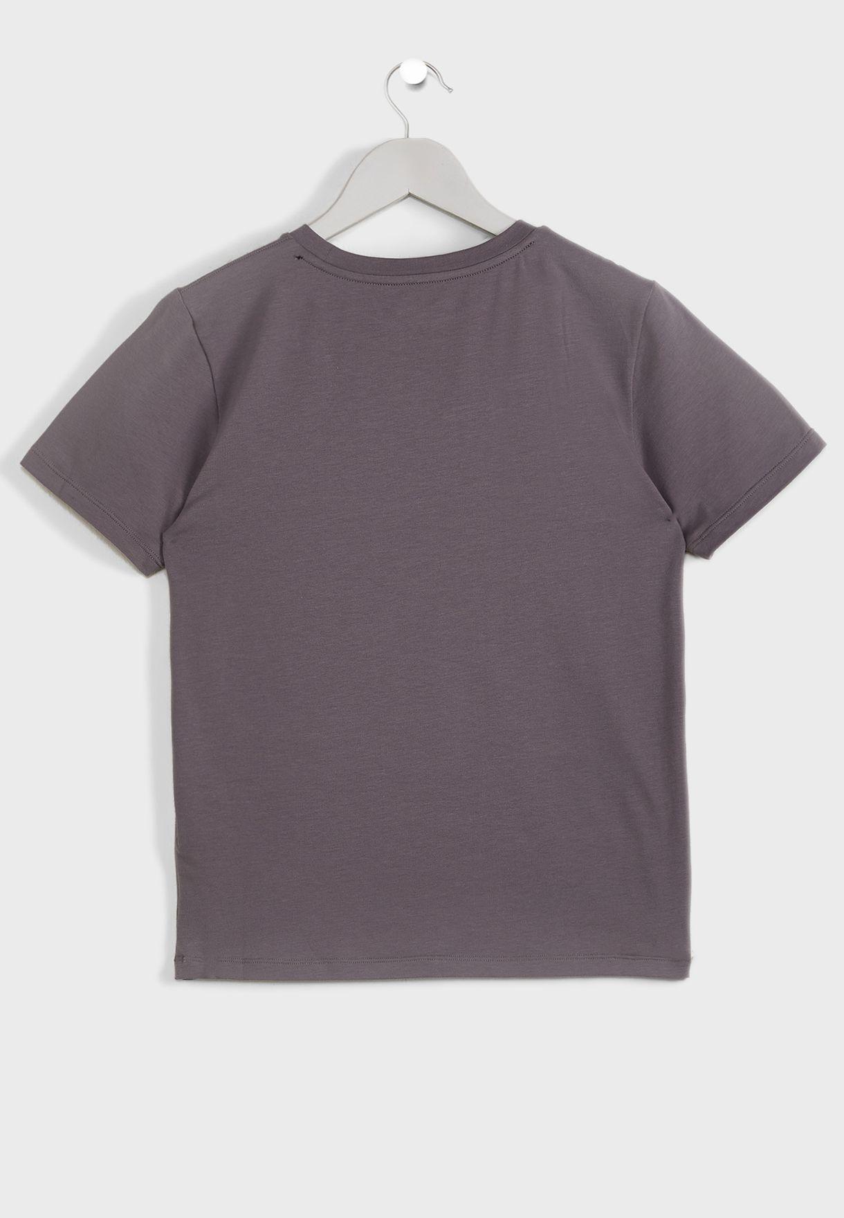 Teen Casual Set Shorts+T-Shirt