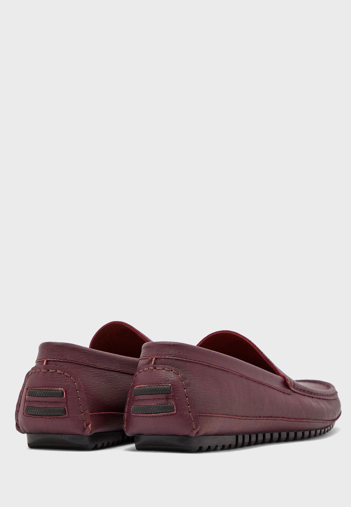حذاء كاجوال جلد اصلي