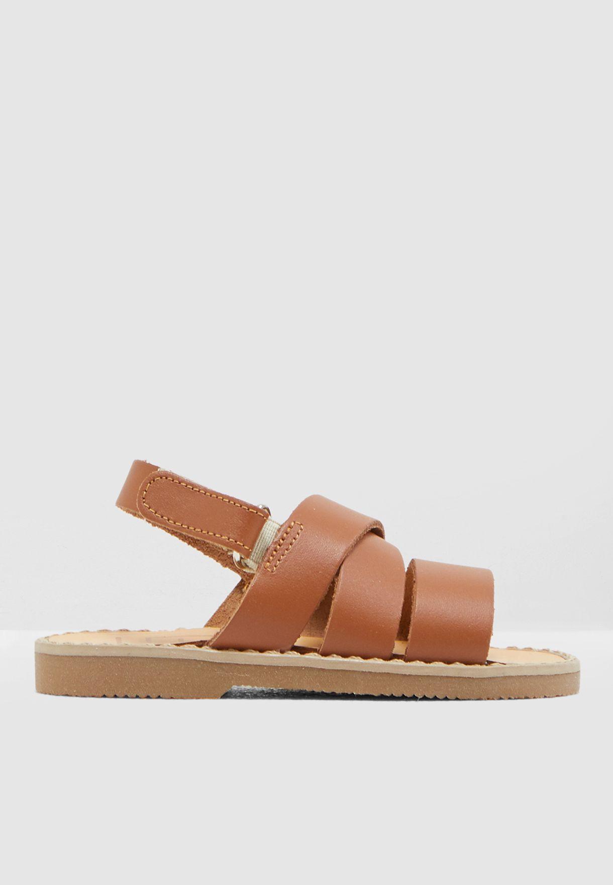 Kids Cross Strap Sandal