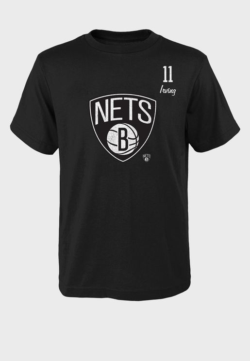 Kyrie Irving Brooklyn Nets Distressed Player T-Shirt