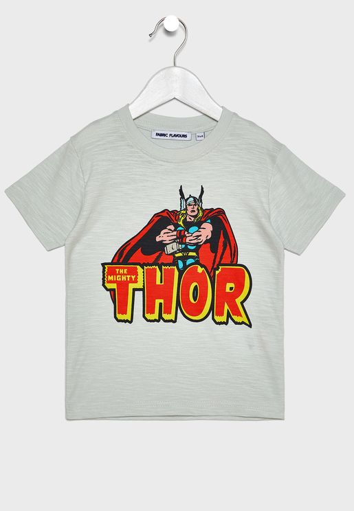 Kids Marvel Thor T-Shirt