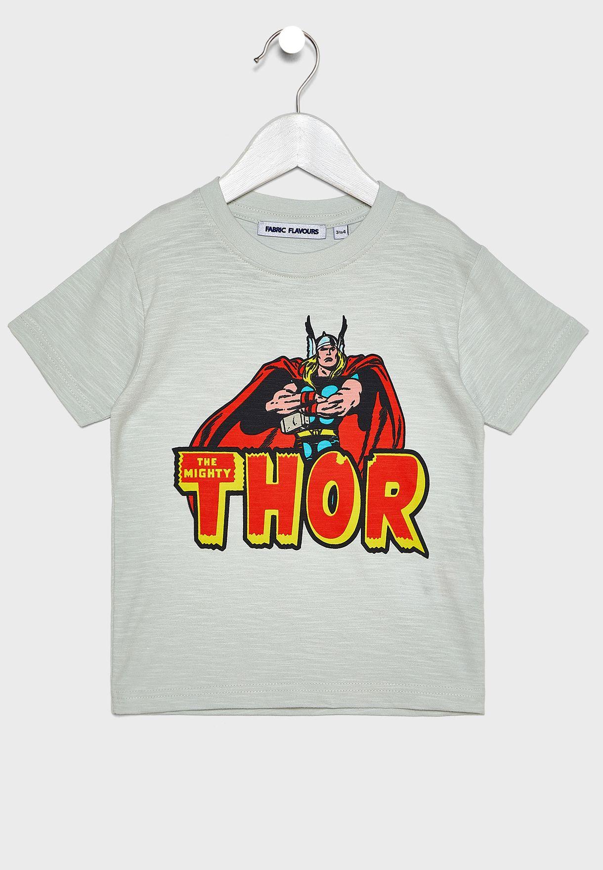 Kids Marvel Thor T-Shirt