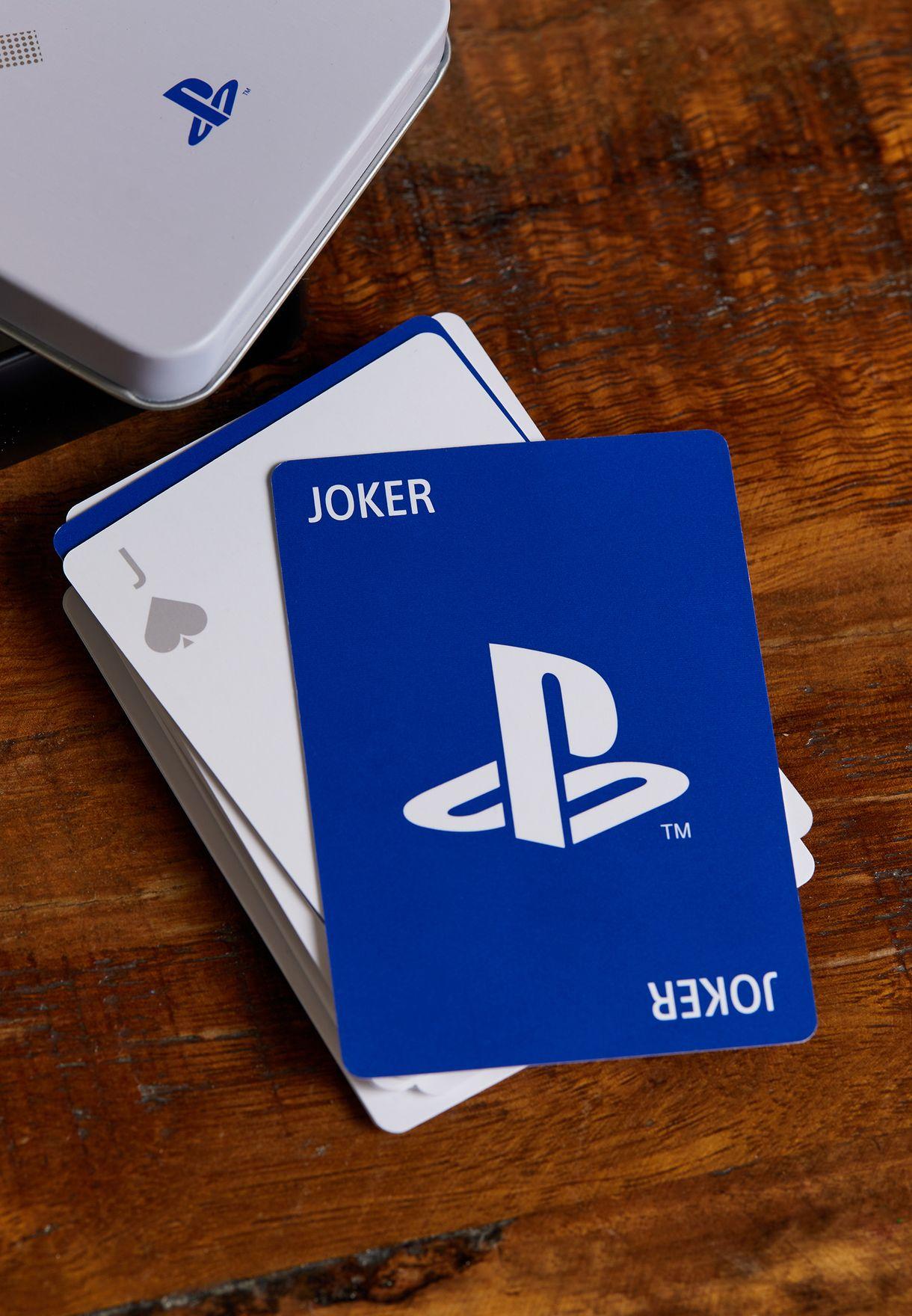بطاقات لعب بلايستيشن