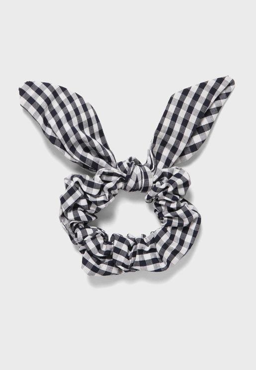 ربطة شعر مربعات للاطفال