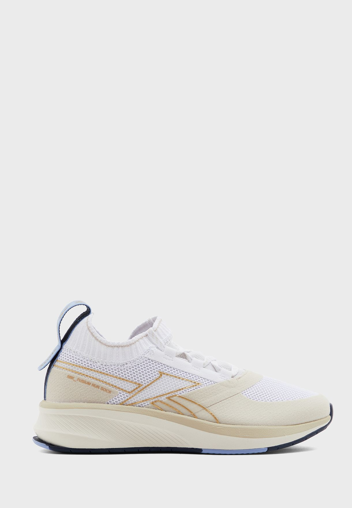 Buy Reebok White Fusium Run 20 Sock For Women In Mena Worldwide Eh0398