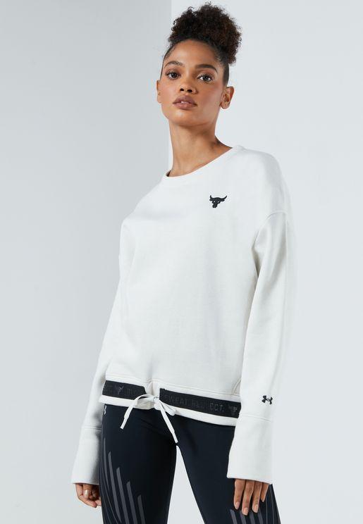 Project Rock Charged Fleece Sweatshirt