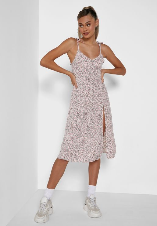 Cami Split Dress