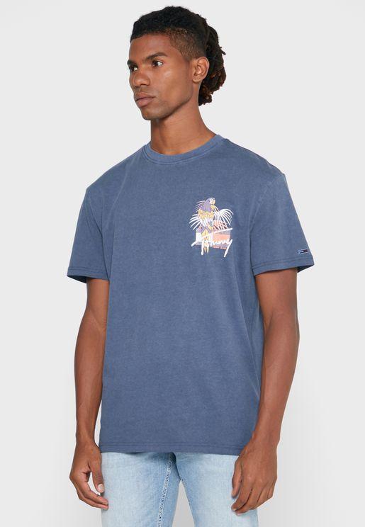 Signature Logo Crew Neck T-Shirt