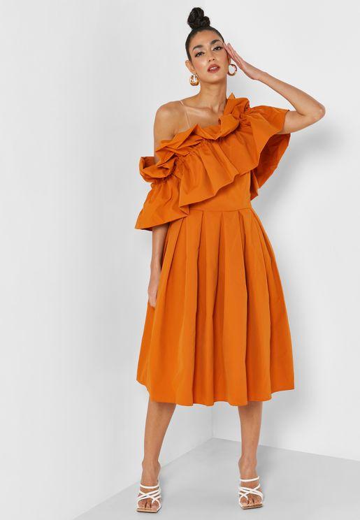 Fifi One Shoulder Dress