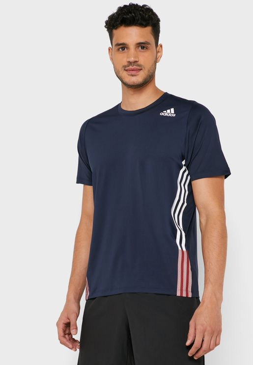 FreeLift 3 Stripe T-Shirt