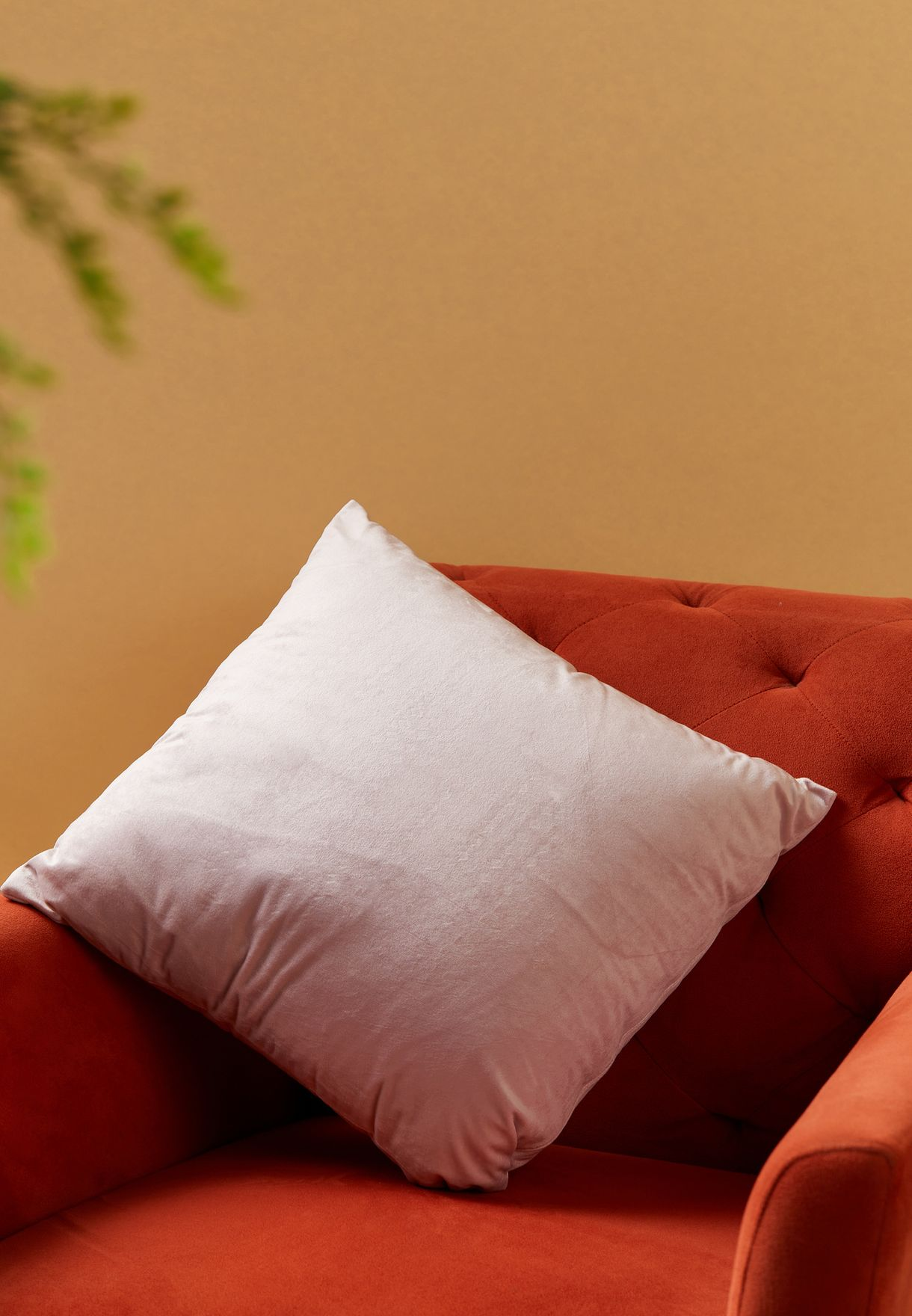 Pink Embellished Cushion With Insert 45cm x 45cm