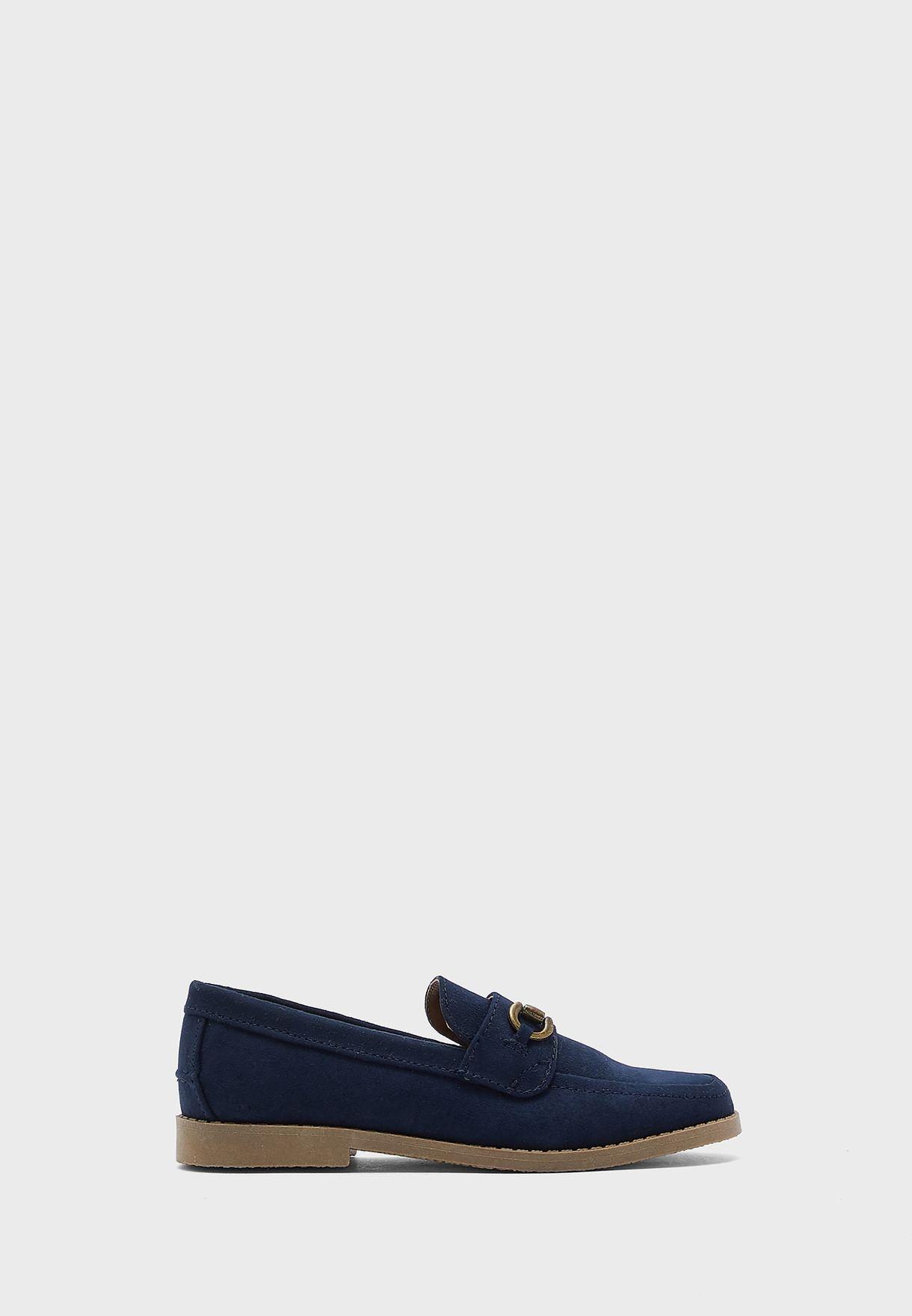 حذاء لوفر شمواه للاطفال