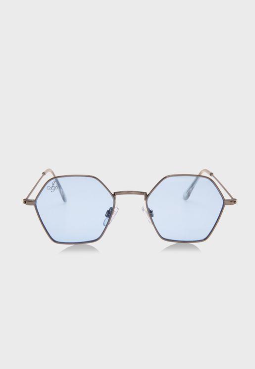 Hexagon Oversized Sunglasses
