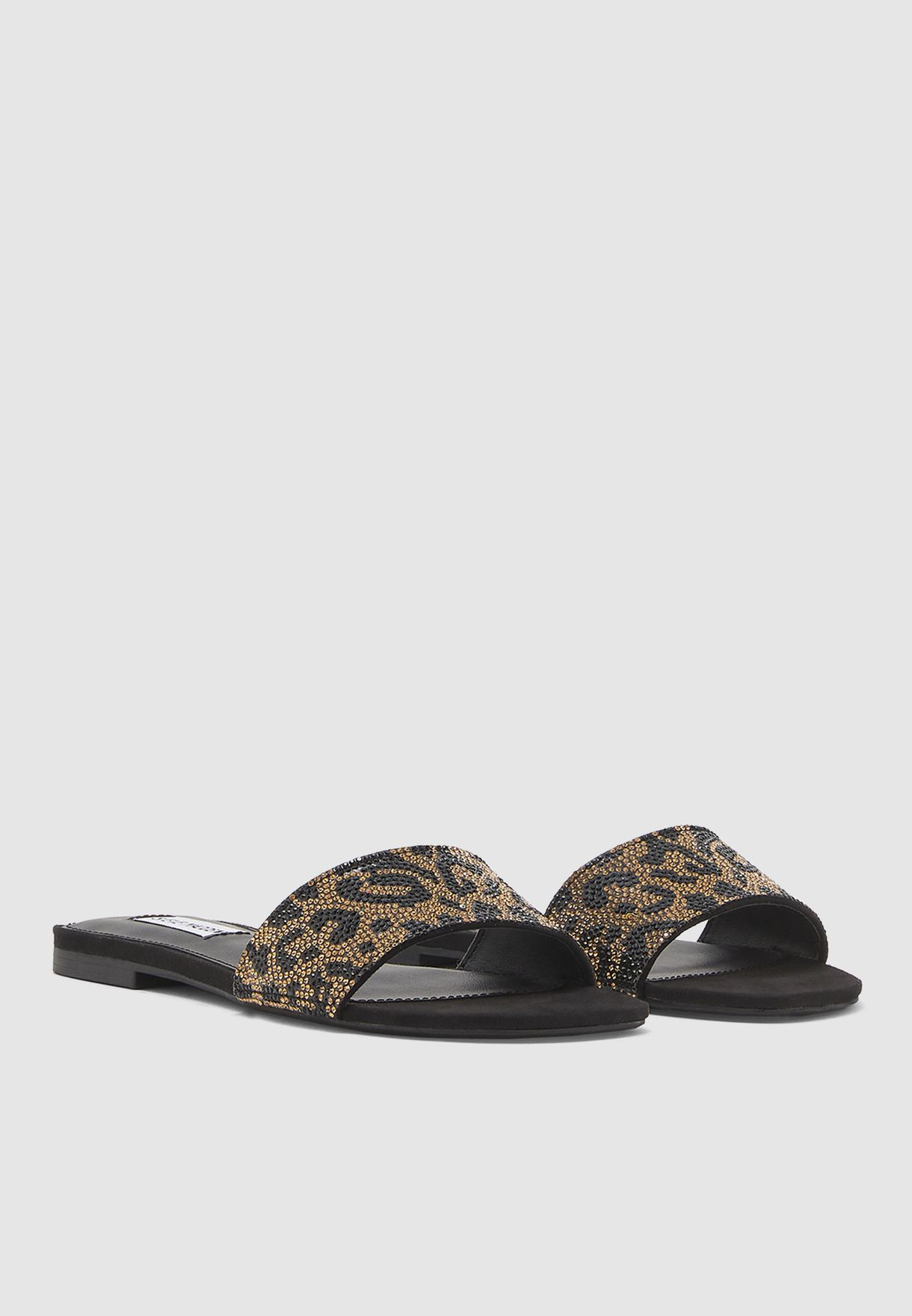 Bevy-R Single Strap Sandal - Leopard