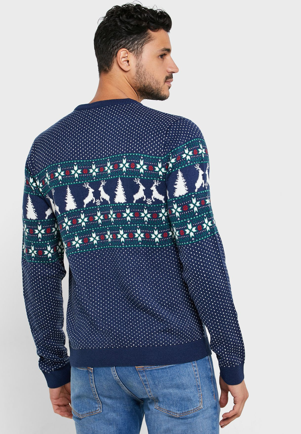 Yoke Fairisle Sweater