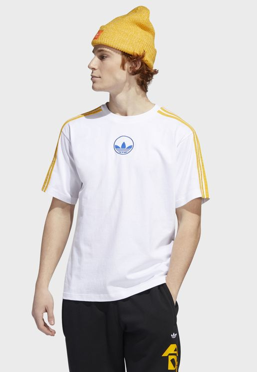 3 Stripe Circle T-Shirt