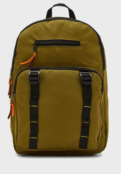 Pocket Front Detail Back Pack