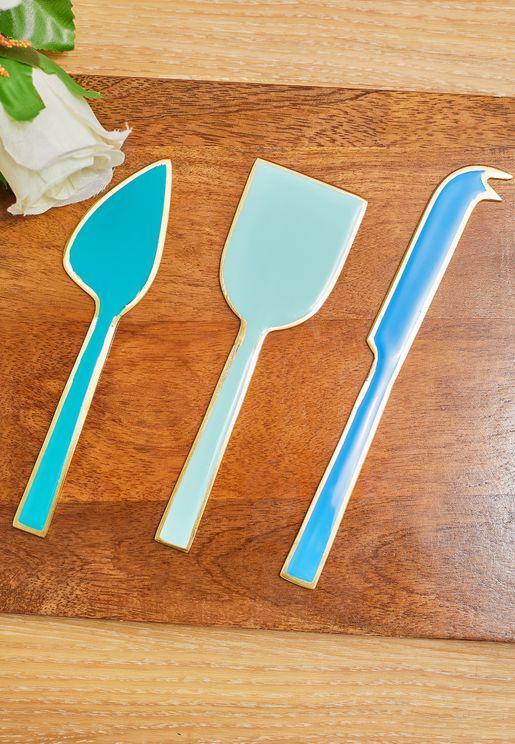 مجموعة من 3 سكاكين
