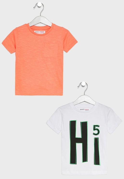 Infant 2 Pack T-Shirts