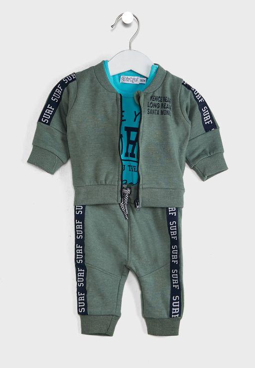 Infant 3 Pack Gift Set