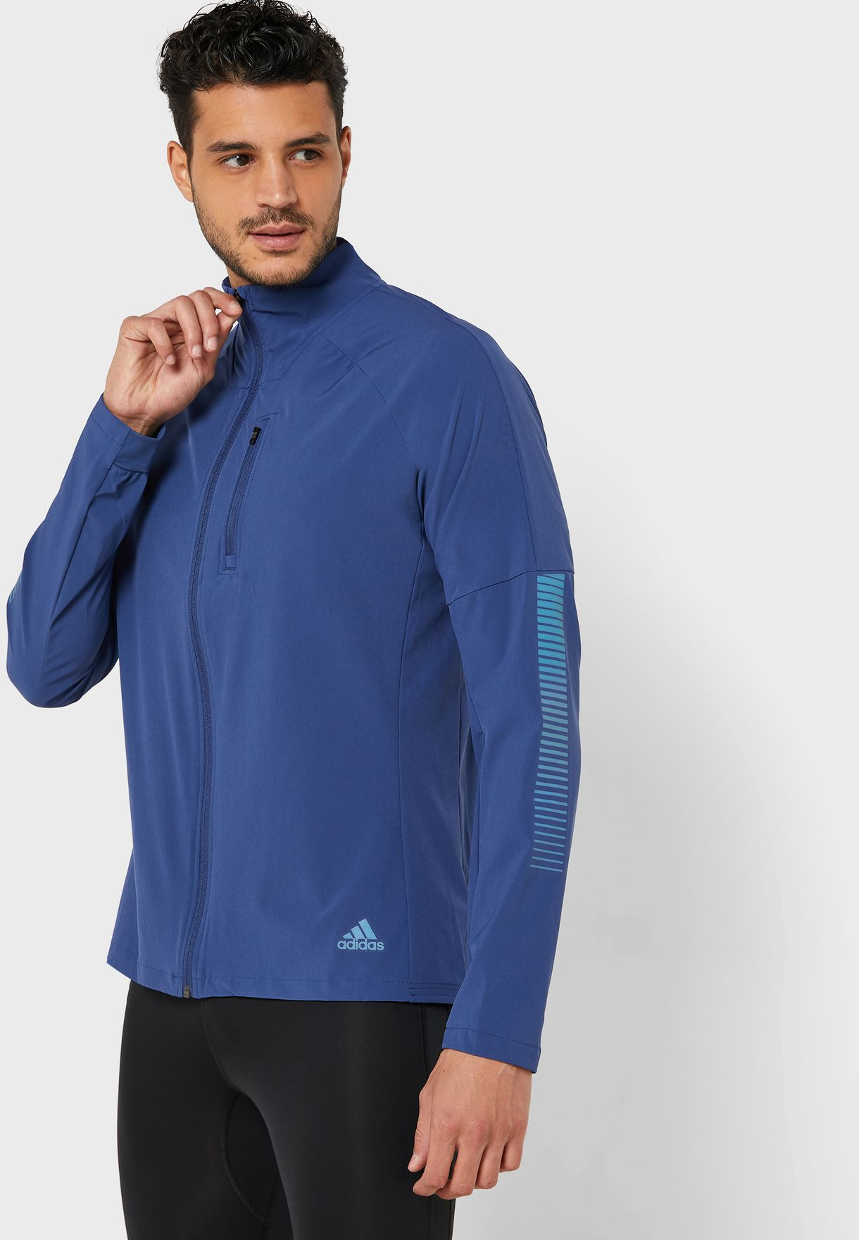 Space Race Logo Runner Jacket