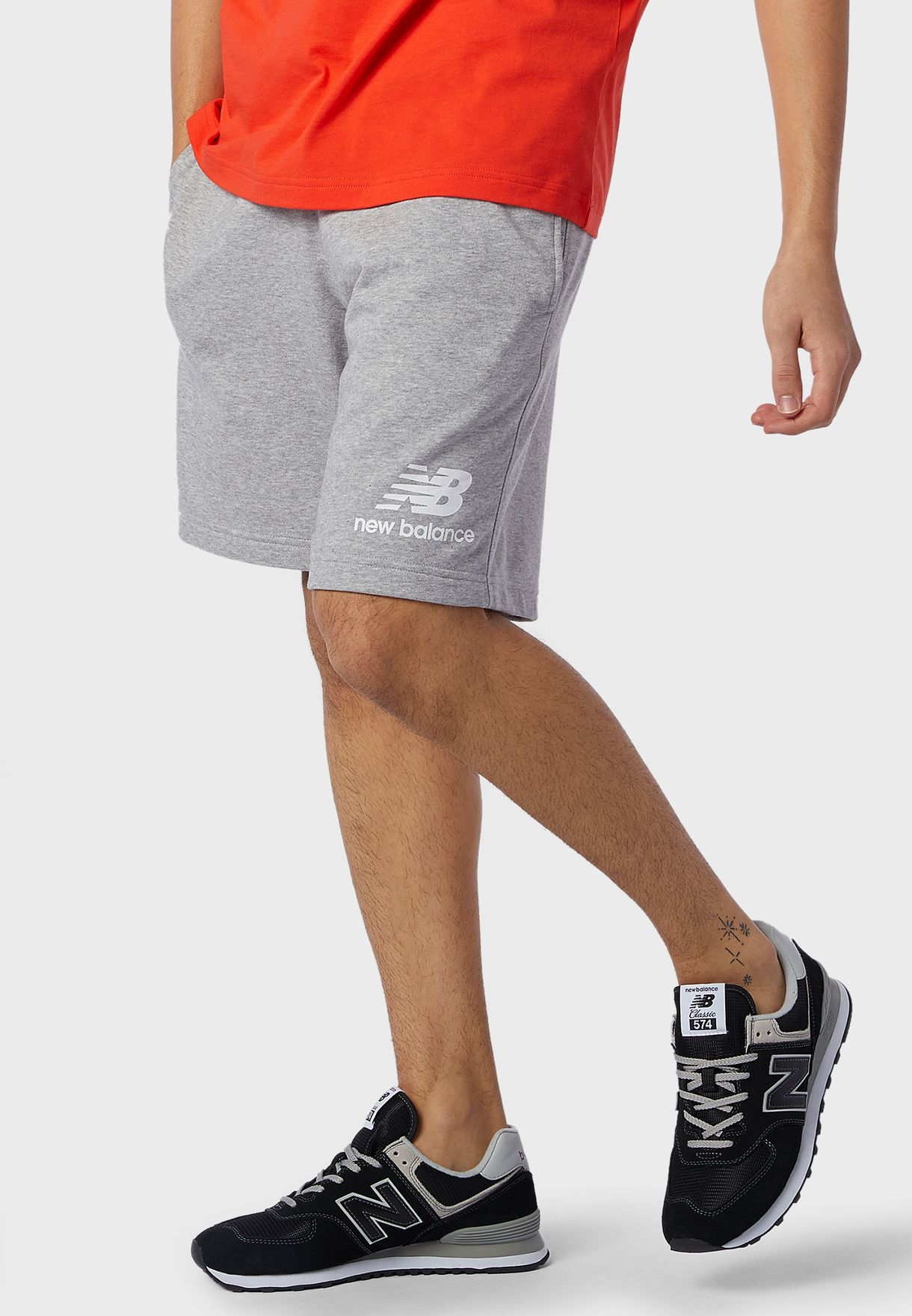 Essential Stacked Logo Shorts
