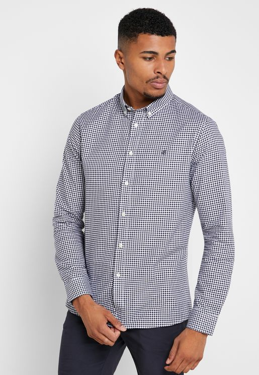 Oxford Gingham Shirt
