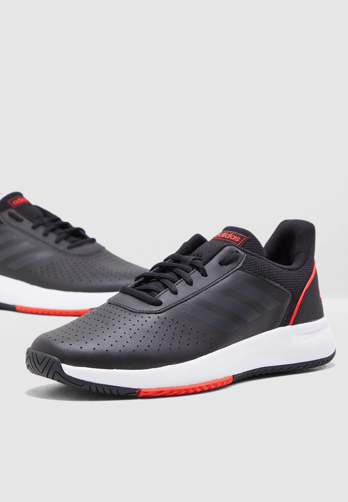 Buy adidas black Courtsmash for Men in