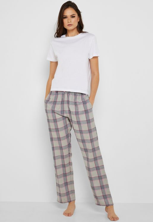 Checked Pyjama Set