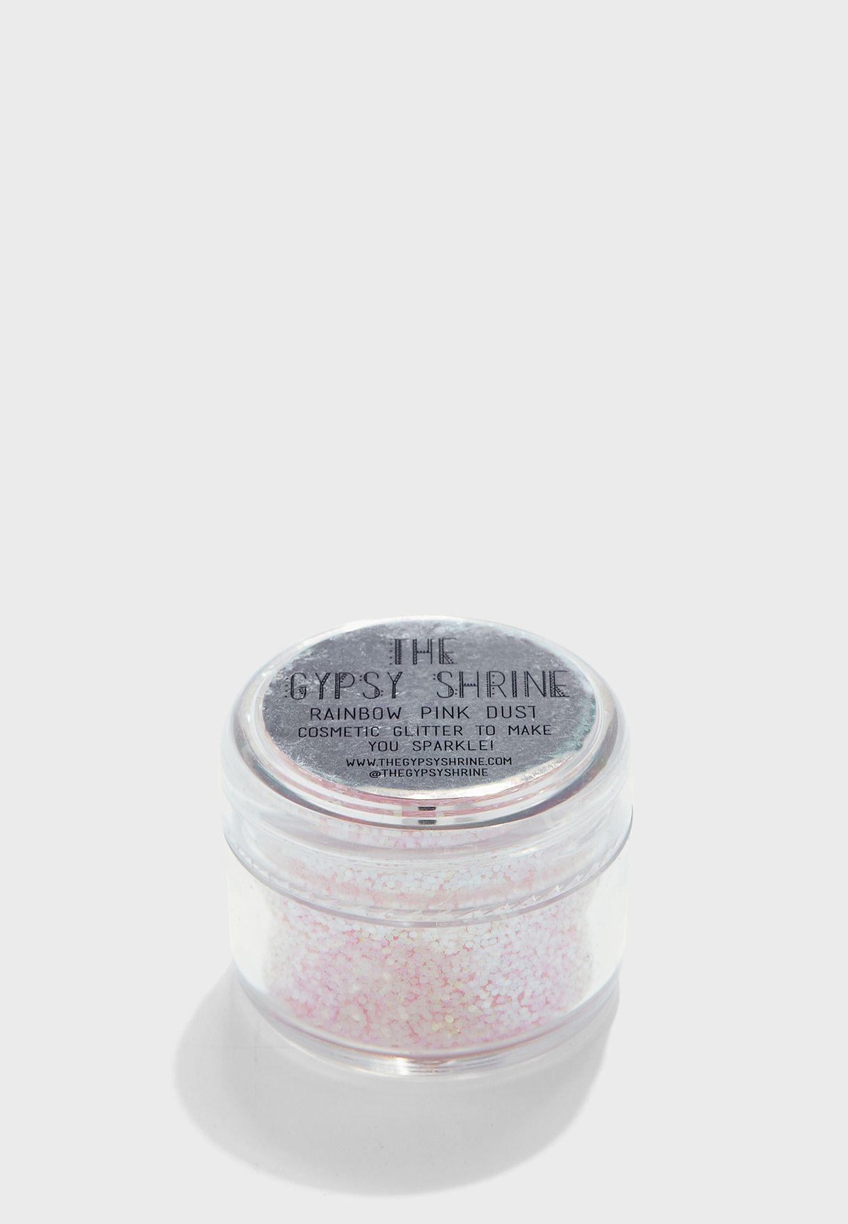 Rainbow Pink Dust Fine Glitter