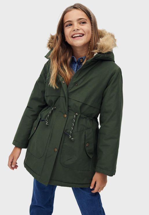 Kids Hooded Jacket