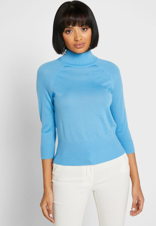 Tk Brett High Neck Sweater