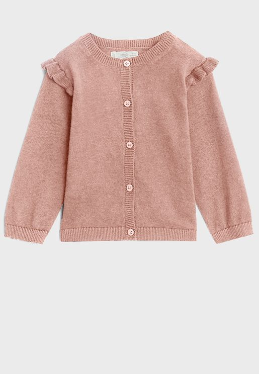 Infant Button Down Cardigan
