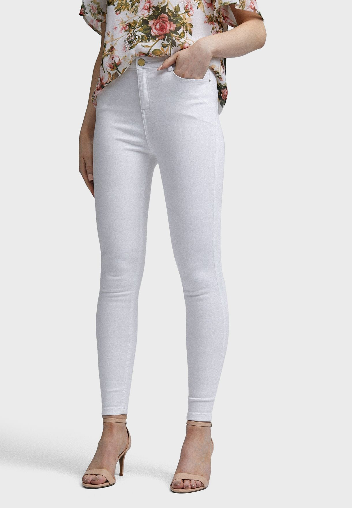 Shape & Lift High Rise Skinny Jeans