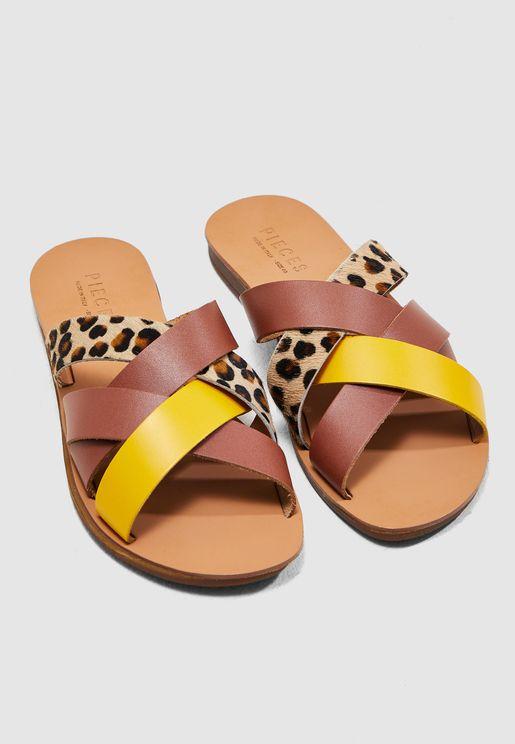 Cari Cross Strap Sandal
