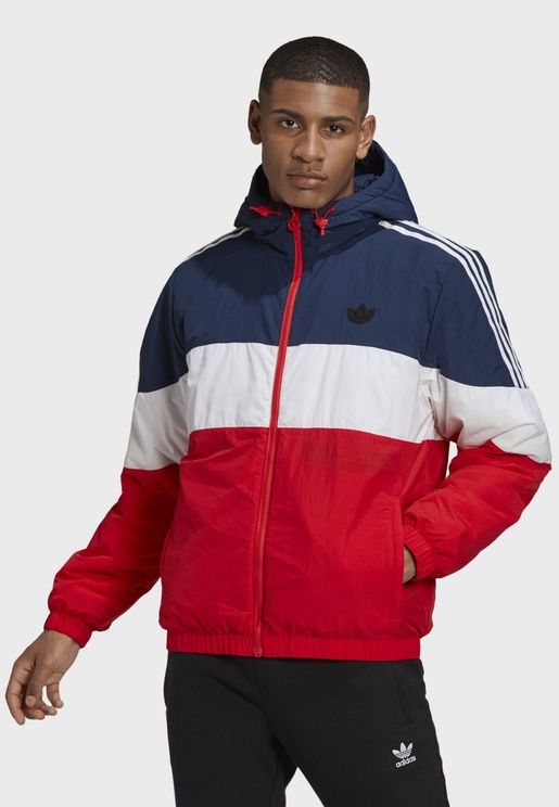 Spirit Colour Block Padded Jacket
