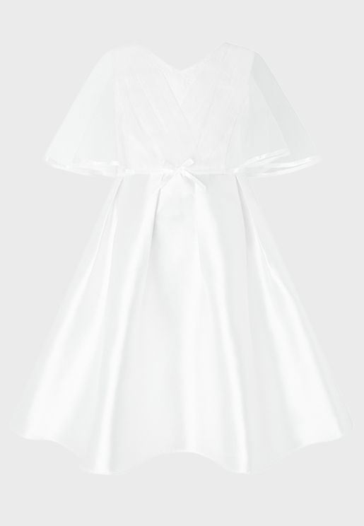 Little Sherry Cape Dress