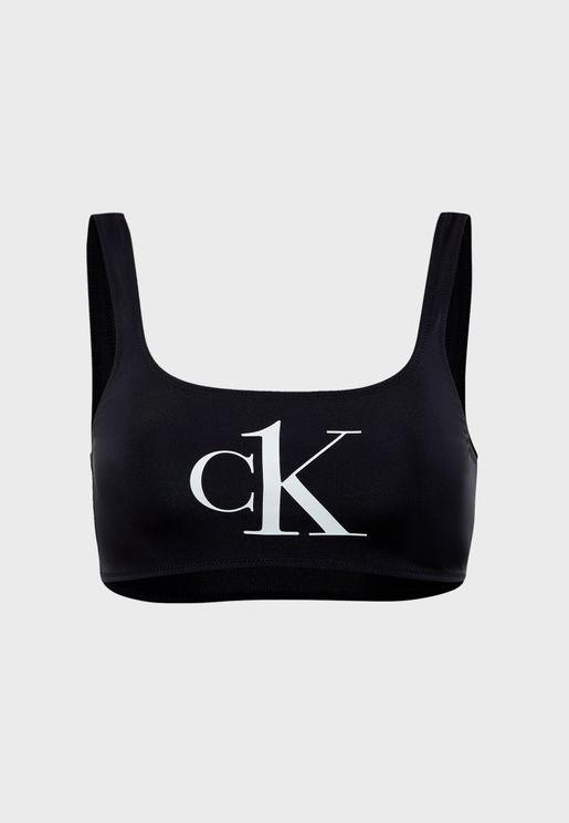 CK One Bikini Top